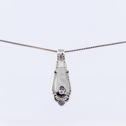 sølvkjede sølvanheng sølvtøy sølvbestikk zirkonia edel sølv